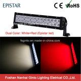 Barra clara Offroad vermelha e branca do diodo emissor de luz 72W (GT31001-72EP-WR)