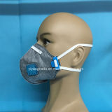 Pliega máscara protectora de polvo de carbón activo para la industria