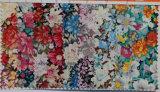 도매 남자의 우연한 꽃 인쇄 면 넥타이