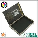 Caixa de presente lustrosa do papel do cartão da cópia de Litho da cor com ímã