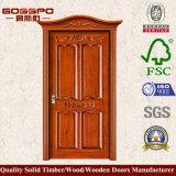Klassischer Haupteingangs-hölzerner Tür-Entwurf (GSP2-071)