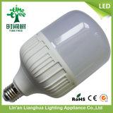 20W 30W 40W 플라스틱 +Aluminum T 모형 램프 LED 전구