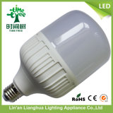 20W 30W 40W + Plástico Modelo T Alumínio Lâmpada LED da lâmpada
