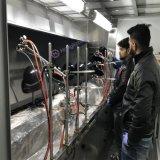 Riga di rivestimento automatica su nastro trasportatore delle pistole a spruzzo della lacca dell'unità di elaborazione per il casco