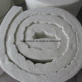 Coperta a temperatura elevata termicamente efficiente della fibra di ceramica del materiale di isolamento