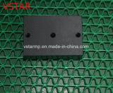 Часть Lathe CNC подвергая механической обработке для части машинного оборудования в пластмассе