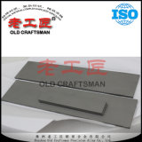 Barre plate de blanc de carbure cimenté de Yg6 Tungten