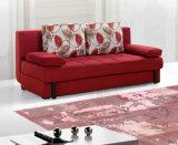 Modernes Gewebe-Sofa-Bett mit Speicherung für Wohnzimmer
