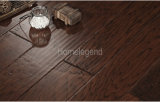 Color marrón negro multiplicar Hickory diseñado el suelo de madera y pisos de madera