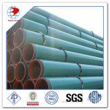 API 5L Gr. B X42/52/60/65/70 3Externo lpe 3lpp Fbe revestimento ou tubo de aço carbono revestido