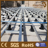 Zócalo plástico ajustable del Decking de madera al por mayor del compuesto WPC de Foshan