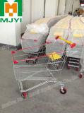 Carretilla de las compras del supermercado 210L del estilo del caddie