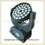 Cabeça movente leve do disco da iluminação do estágio da lavagem do zoom do diodo emissor de luz 36PCS*10W 4in1 RGBW