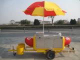 Лопающаяся кукуруза/Hot Dog/кафе быстрого питания тележки (SHJ-HS230)