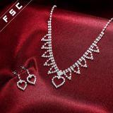 Fsc-Form-stellten Brautschmucksache-Inner-Form-Schmucksachen in Kristall ein
