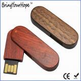 USB Twister 8GB 16GB деревянный (XH-USB-001W)