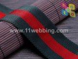 좋은 품질 능직물 패턴은 빈 나일론 가죽 끈을 착색한다