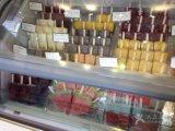 アイスクリームのショーケースの工場価格の新しタイプ