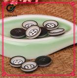 Bouton de chemise à haute teneur de procès de couche de bouton de la résine 4holes