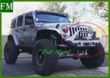 De Op zwaar werk berekende Zwarte VoorBumper van de auto voor Jeep Jk