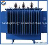 Transformador de potencia inmerso en aceite del certificado 11kv de la ISO y del Ce