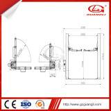 Tipo dell'elevatore idraulico del cilindro del doppio di marca di Guangli - elevatore dell'automobile di disegno dei 2 alberini