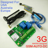 casella GSM-Automatica del regolatore di interruttore di GSM dell'uscita del relè di potere di versione 3G doppia grande