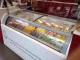 Gabinete de exhibición helado duro del helado (TK-11)
