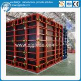 Coffrage en aluminium en acier pour les murs en béton