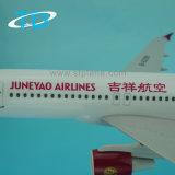 Авиакомпании Juneyao A320 1/100 37.6см полимер плоскости модели