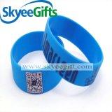 Guangzhou-Fabrik-kundenspezifischer SilikonWristband