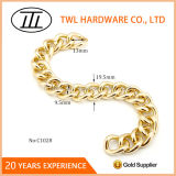 Corrente decorativa de cor de ouro claro de alta qualidade para bolsa