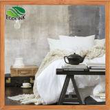 Hoja de cama de fibra de bambú edredón almohadas cubre juego de cama
