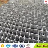 Het Metaal die van gangen Grating van de Staaf van het Aluminium van het Vloeistaal raspen