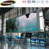 Écran polychrome d'intérieur de haute résolution de P6 DEL pour la publicité