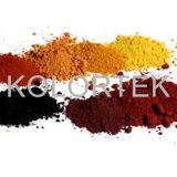 Fabriek van het Pigment van het Oxyde van het ijzer de Kosmetische