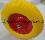 16 * 4.00-8 roda de borracha PU Roda, roda da roda, roda PU