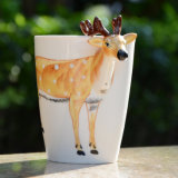 3D Hand-Painted Coffee Mug Animal Cuptea Ceramic Decorative Gift