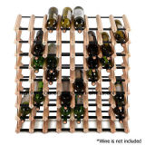 Estante casero creativo del sostenedor de botella de vino de la barra del sostenedor de madera del vino