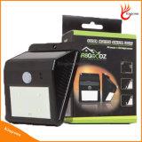 Солнечная Светодиодные лампы PIR датчик движения человеческого Солнечный свет для Открытый Путь Настенный светильник безопасности Spot освещения
