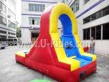 普及した子供屋外の裏庭のためのプールが付いている膨脹可能な水スライドの膨脹可能なスライド