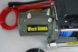 Argano sintetico della corda dell'argano elettrico fuori strada di SUV DC12V/24V (6000lbs)