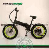 Scheibenbremse, die elektrisches Fahrrad mit Motor des Spaß-8 faltet