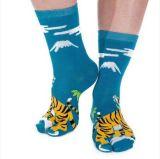 TigerPatten für Mann-Kleid Tabi Socke