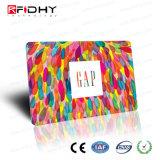 Van de Bedrijfs druk van de Compensatie van de Kaart RFID van het Lidmaatschap van pvc van de fabriek In het groot Slim Identiteitskaart