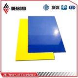 Panneau décoratif à haute brillance de panneau composé en aluminium de constructeur de la Chine