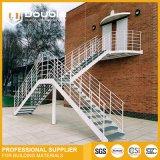 Neuer Entwurfs-modernes preiswertes gewundenes Treppenhaus für dekoratives
