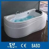 1550X1550X650mmの角の渦の浴槽