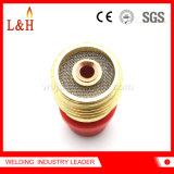 carrocerías del cerco de la lente del gas 45V45 de diámetro bajo para el soplete de TIG