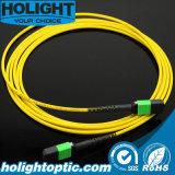 Cordon de connexion uni-mode de fibre optique de MPO